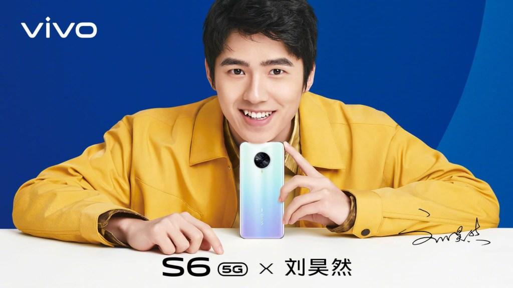 Vivo S6 official poster