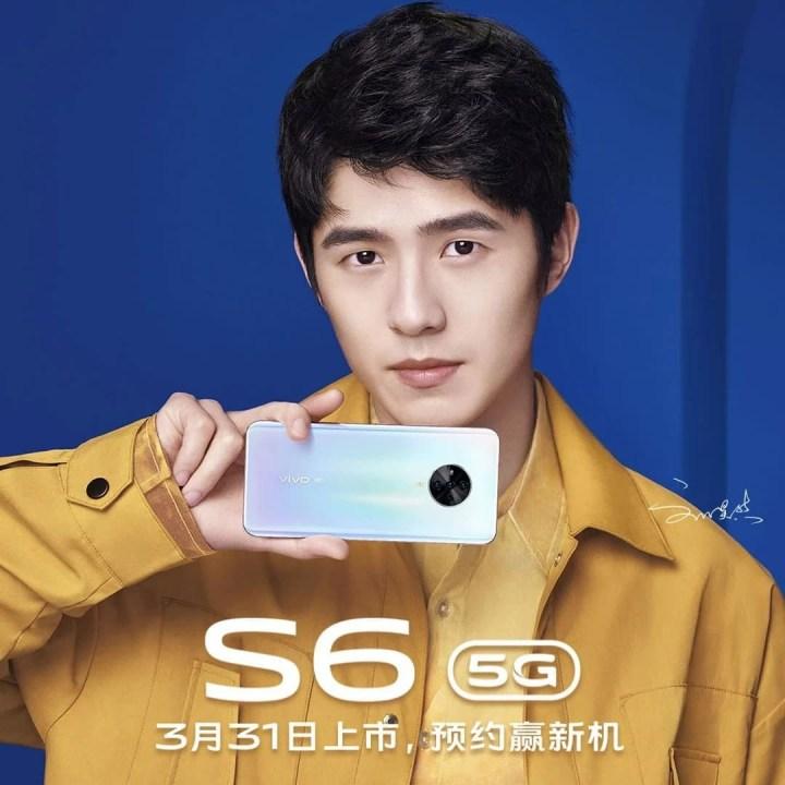 Vivo S6 official poster