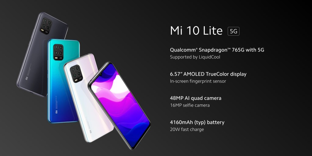 Xiaomi Mi 10 Lite 5G Specifications
