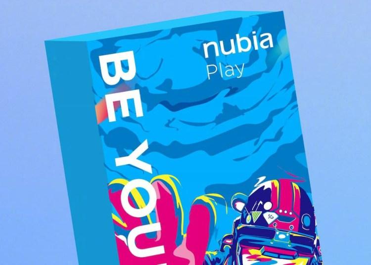 Nubia Play 5G packaging