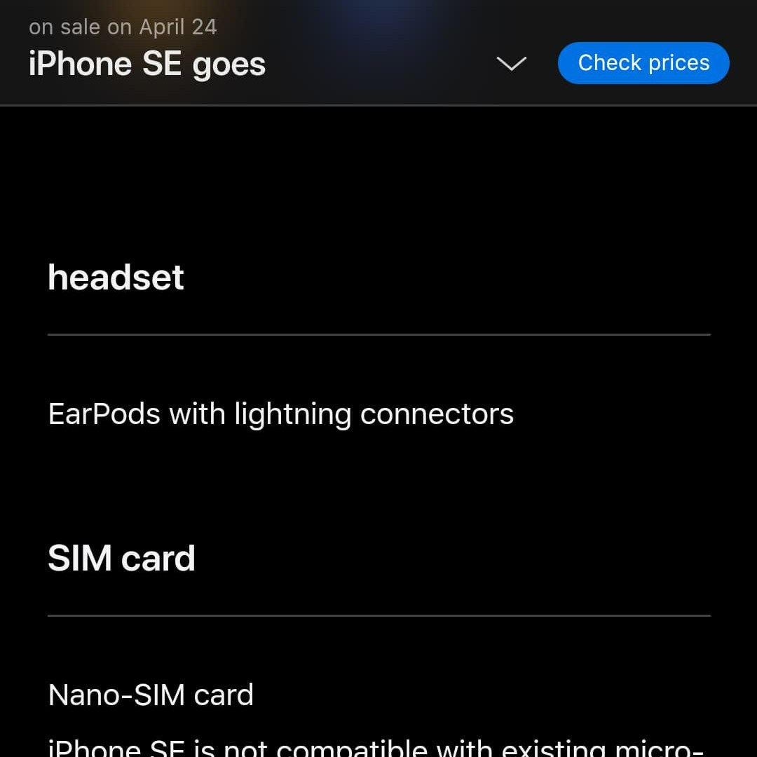 iPhone SE 2020 No e-SIM in China