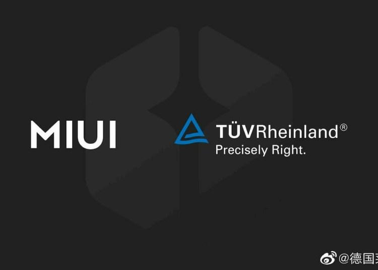 Xiaomi MIUI 12 TUV Rheinland
