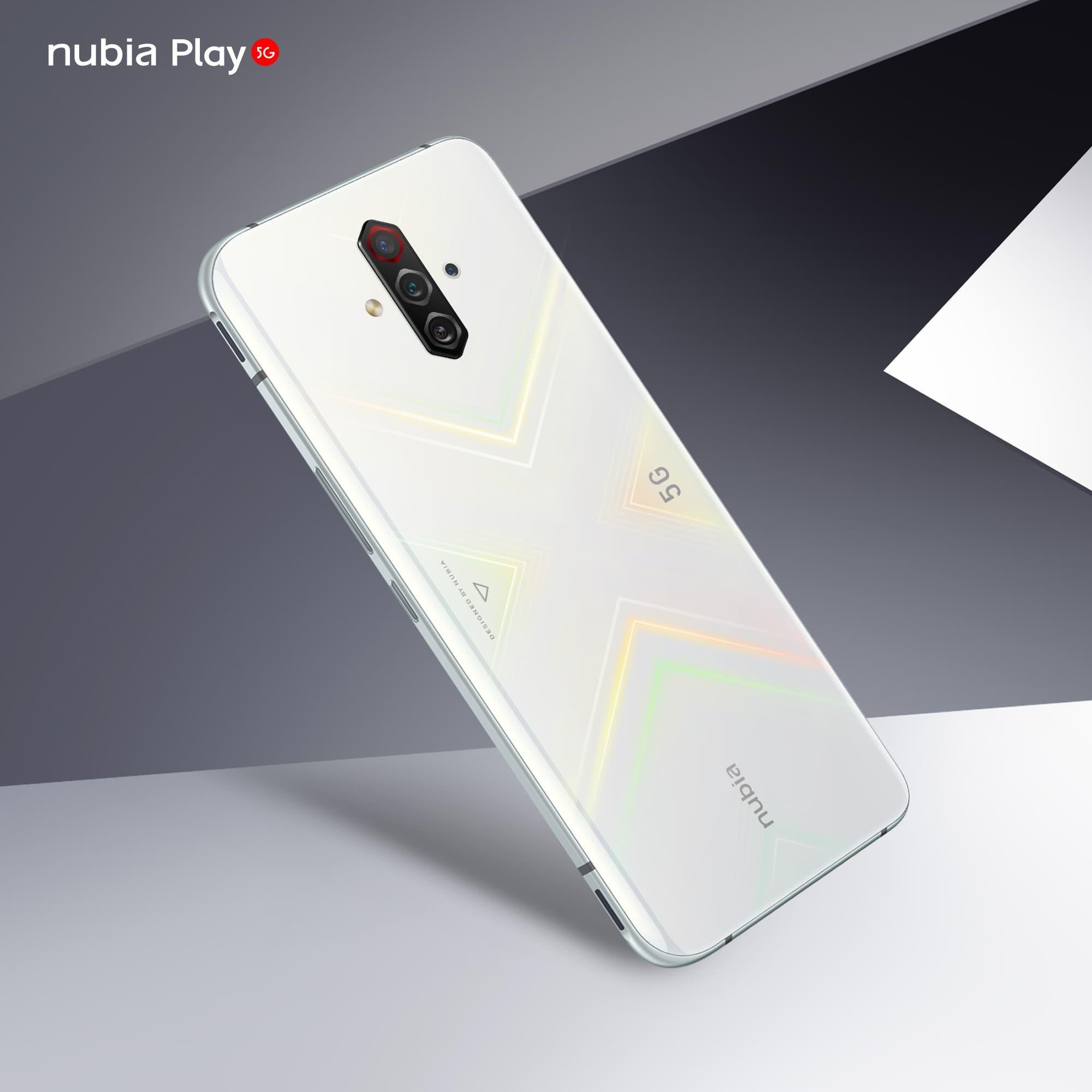 Nubia Play 5G White