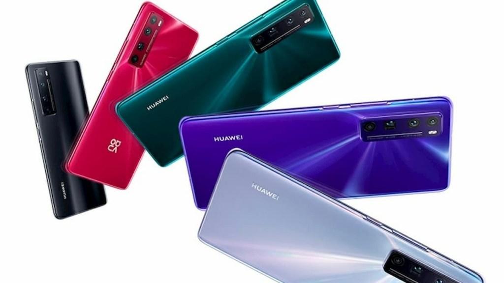 Huawei Nova 7 Series Comparison