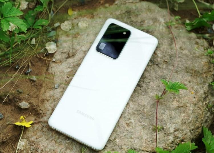 Galaxy S20 Ultra Imagine White Live Photos