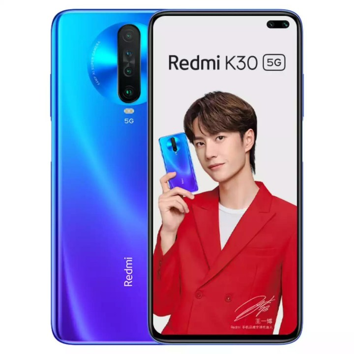 Redmi K30 Extreme Edition Blue