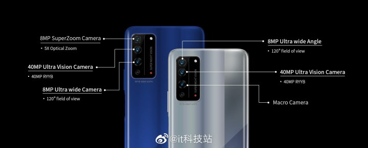 Honor X10 and X10 Pro Camera Difference