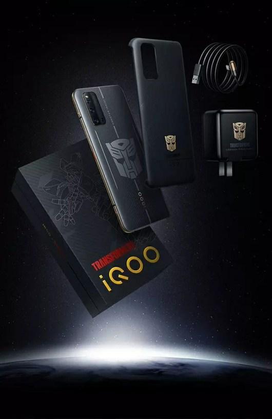 iQOO 3 Transformers Edition Price