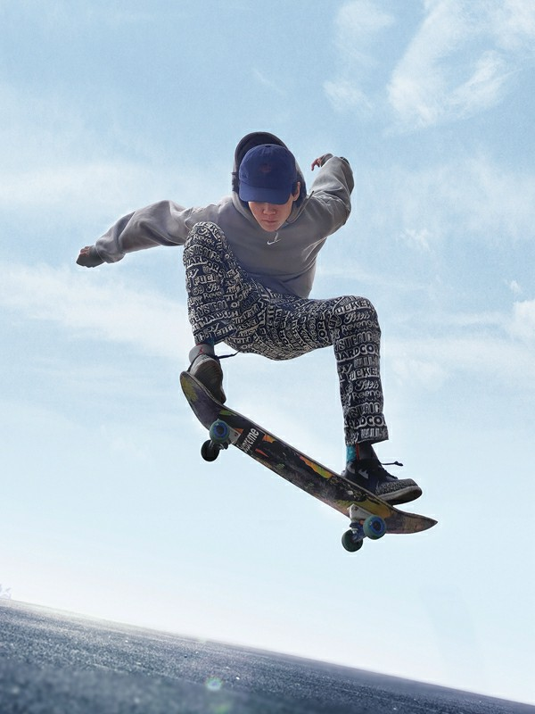 Vivo X50 Pro Camera Sample - Micro-cloud platform captures the skateboard effect
