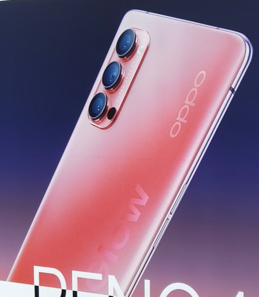 Oppo Reno 4 Orange Color