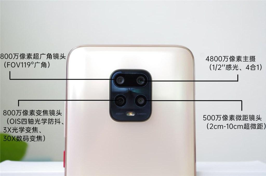 Redmi 10X Pro Camera Specifications