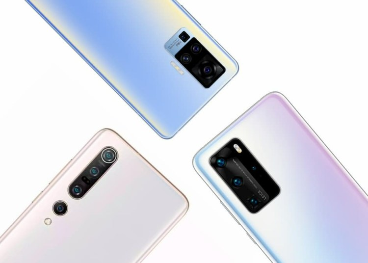 Vivo X50 Pro and Huawei P40 Pro and Mi 10 Pro Camera Comparison
