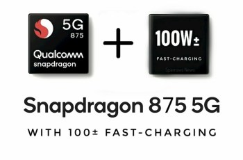 Qualcomm Snapdragon 875 and 100W Fast-charging