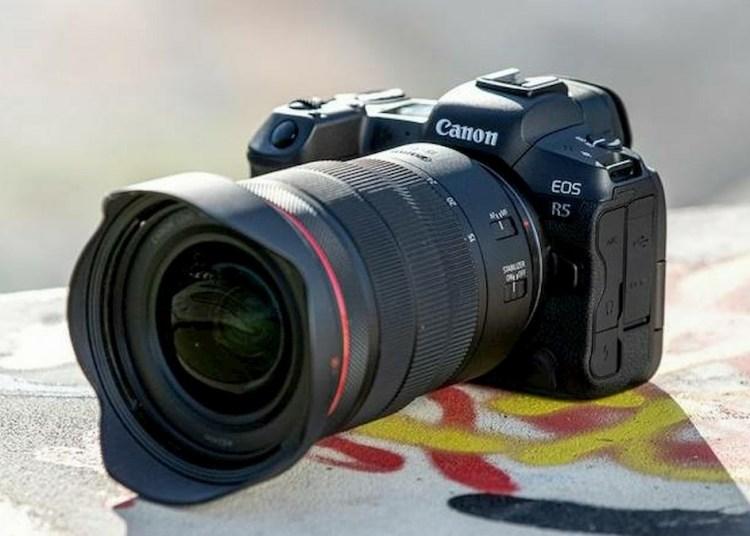 Canon EOS R5 Detailed Evolution
