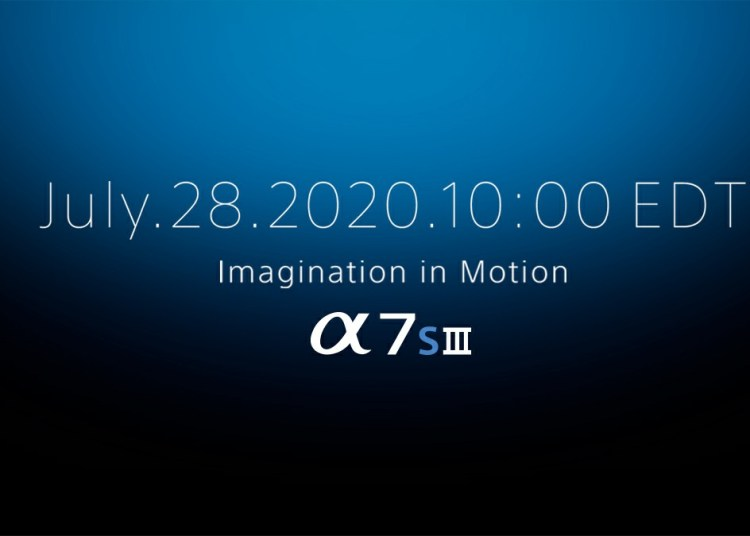 Sony Alpha A7S3 Release Date