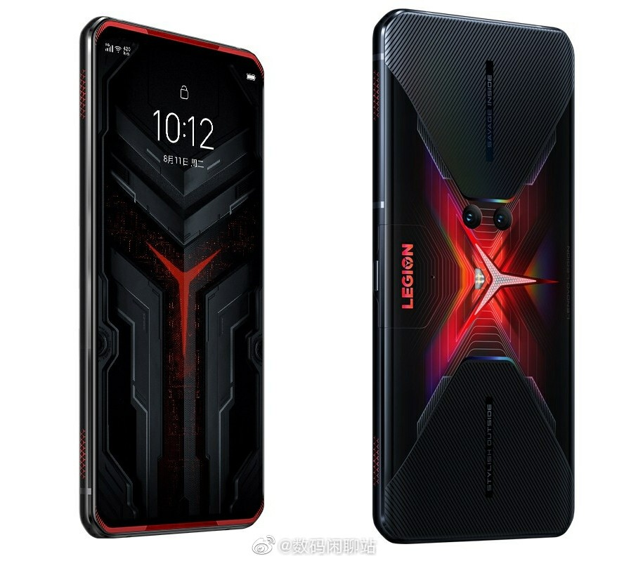 Legion Gaming Phone Pro official rendering
