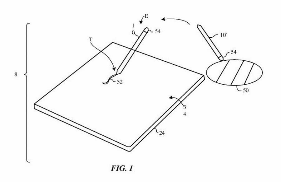 New Patent for Apple Pencil