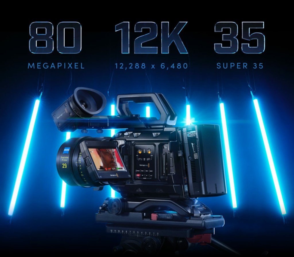 Blackmagic URSA Mini Pro 12K specifications