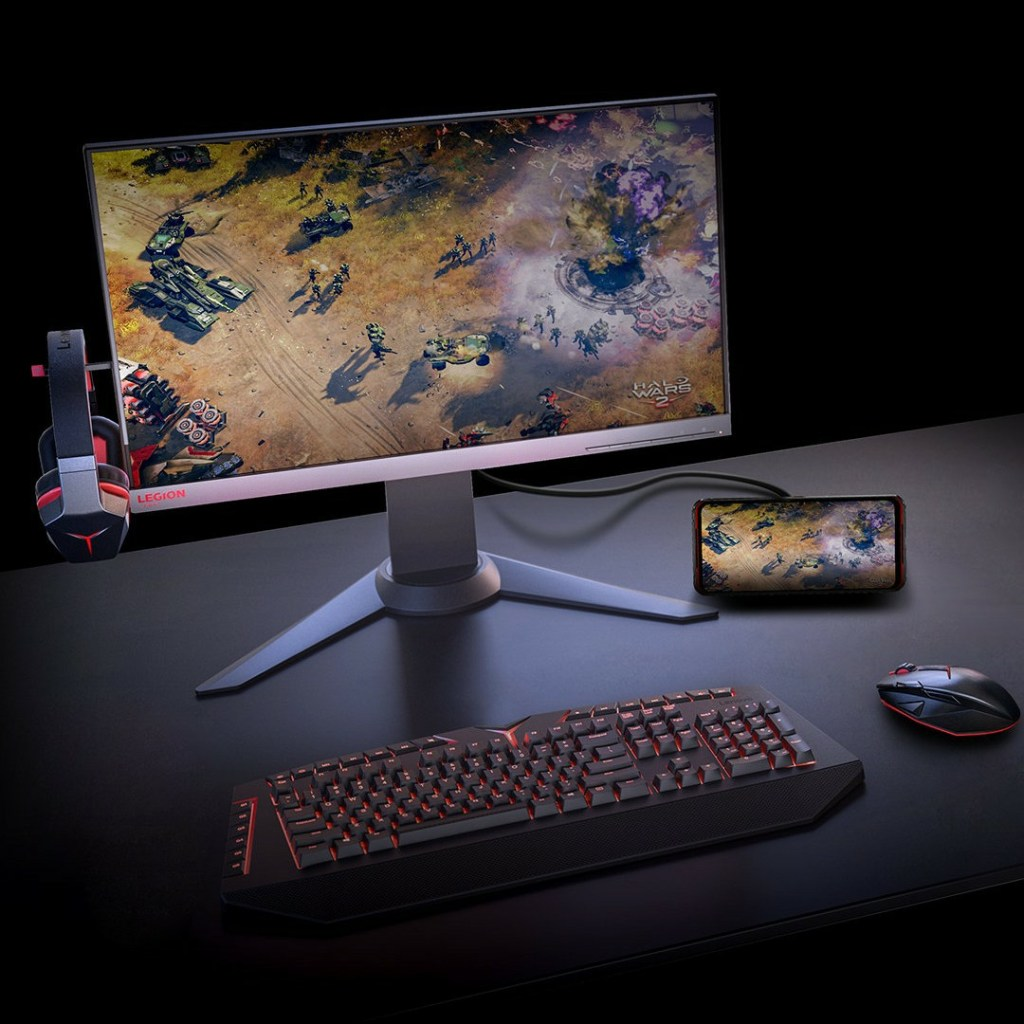 Lenovo Legion Gaming Phone Pro full-featured dual Type-C