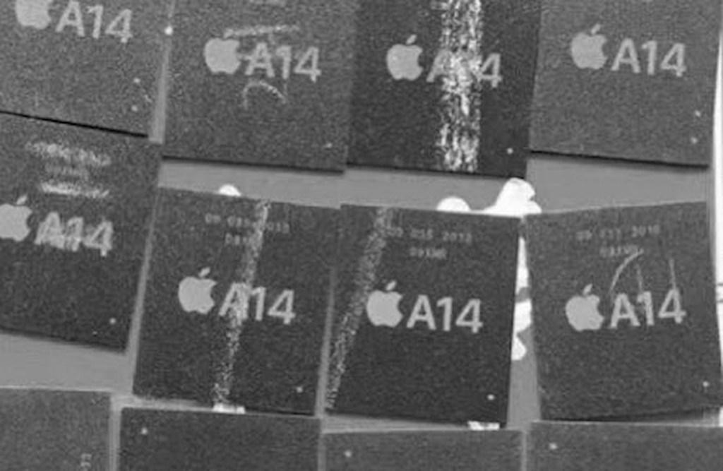 Apple A14 processor live photo