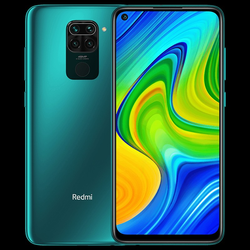 Redmi Note 9 Aqua Green Color