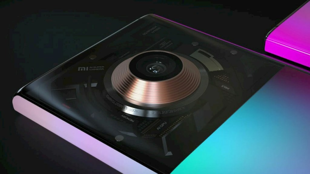 Xiaomi Mix Alpha Pro Concept Design