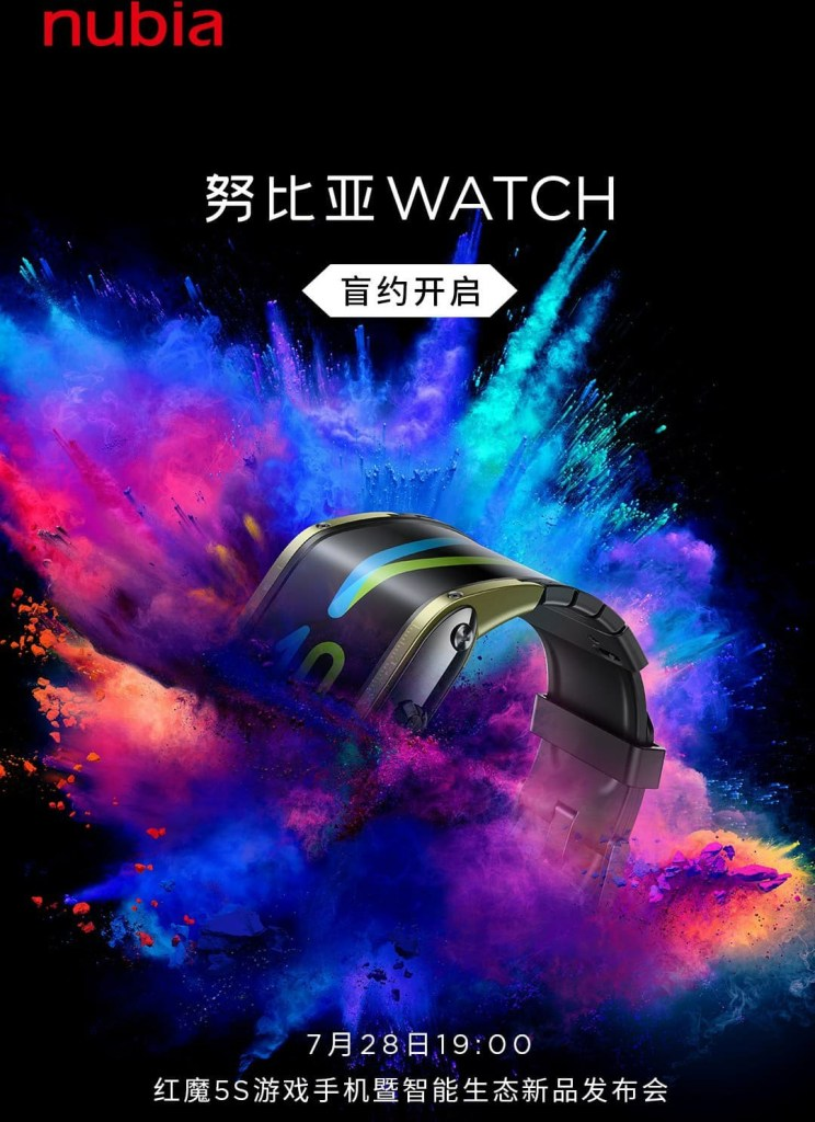 Nubia Watch release date, Nubia Watch Appearance