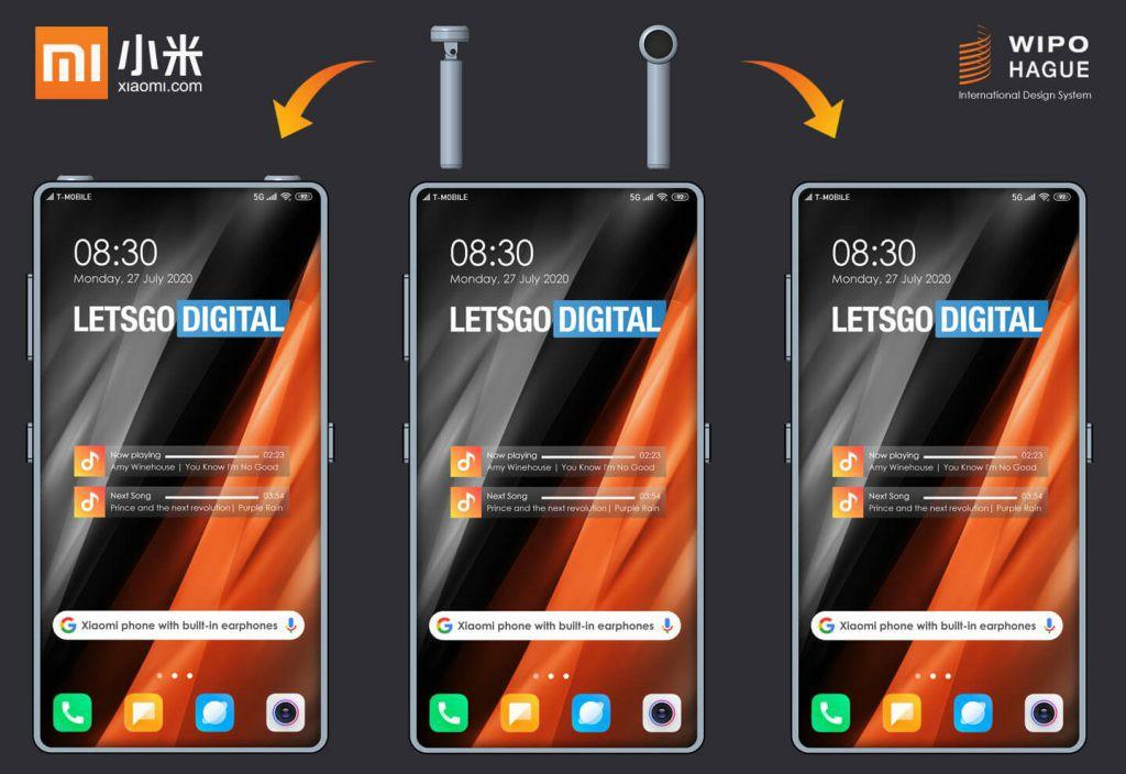 Xiaomi Phone With built-in Headphones
