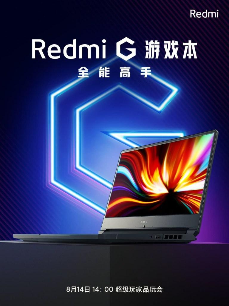 Redmi G gamebook Release date