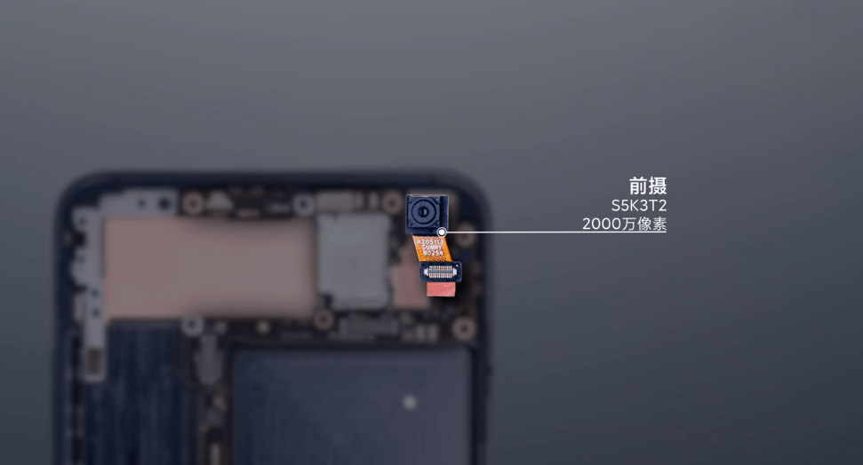 The front camera is an S5K3T2 with 20 megapixels.