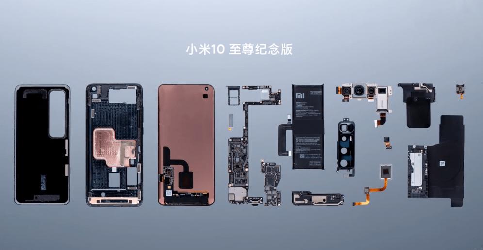 Xiaomi Mi 10 Ultra Teardown