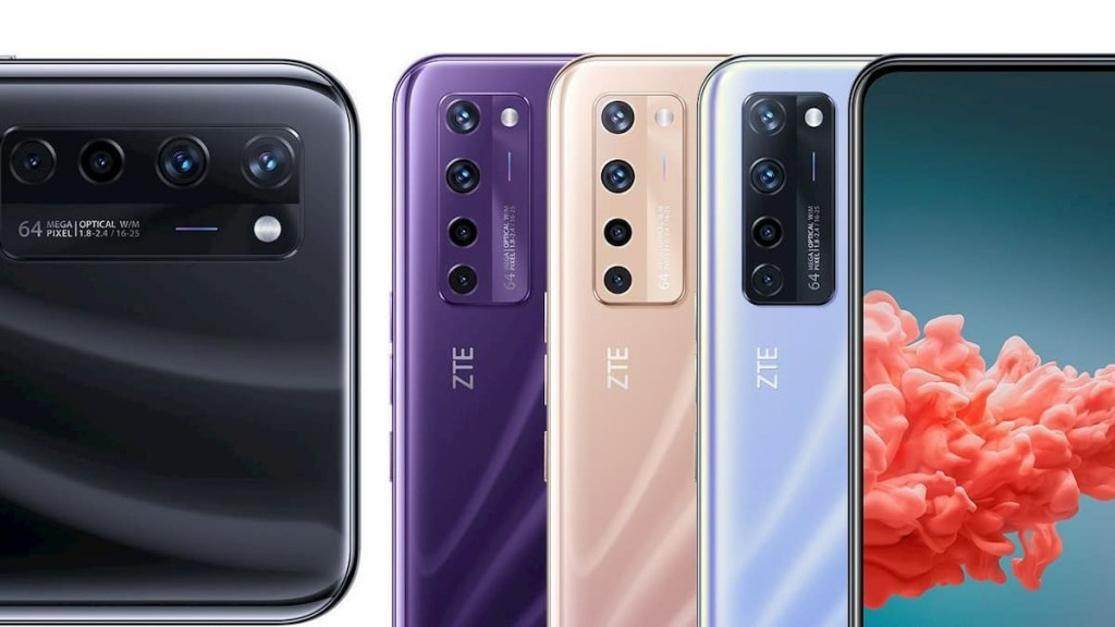 ZTE Axon A20 5G Color Options Revealed in New Poster 1
