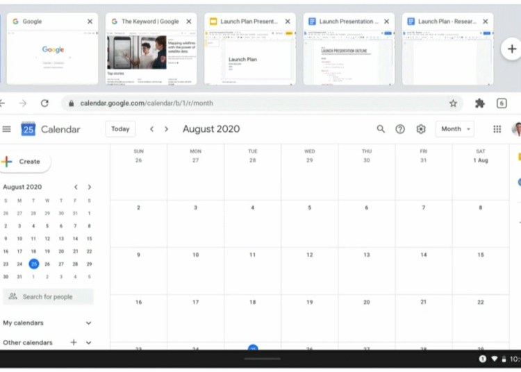 Chrome 85 Update