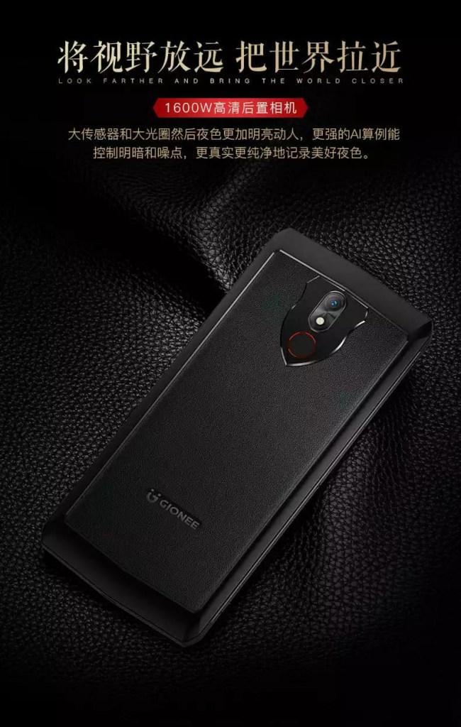Gionee M30 10000mAh Battery Phone