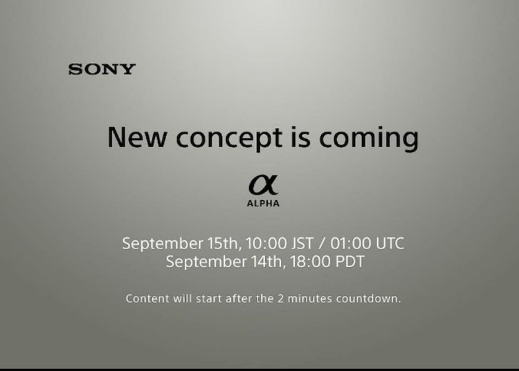 Sony Alpha A7c Release Date