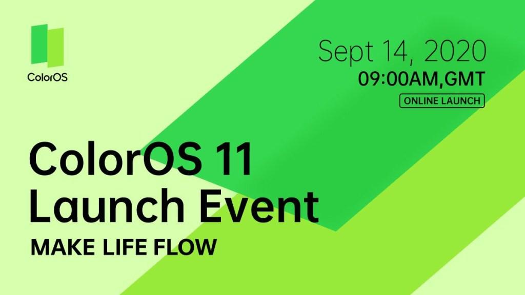 Oppo ColorOS 11 Release Date