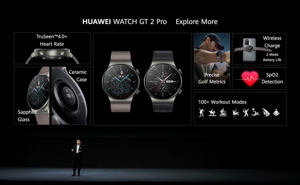 Huawei Watch GT2 Pro features
