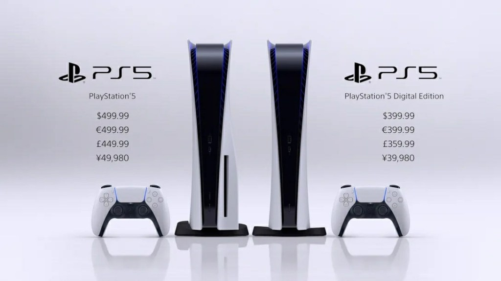 PlayStation 5 Price and Availability