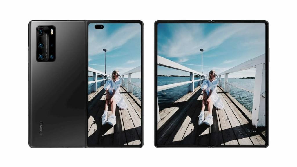 Huawei Mate X2 Rendering