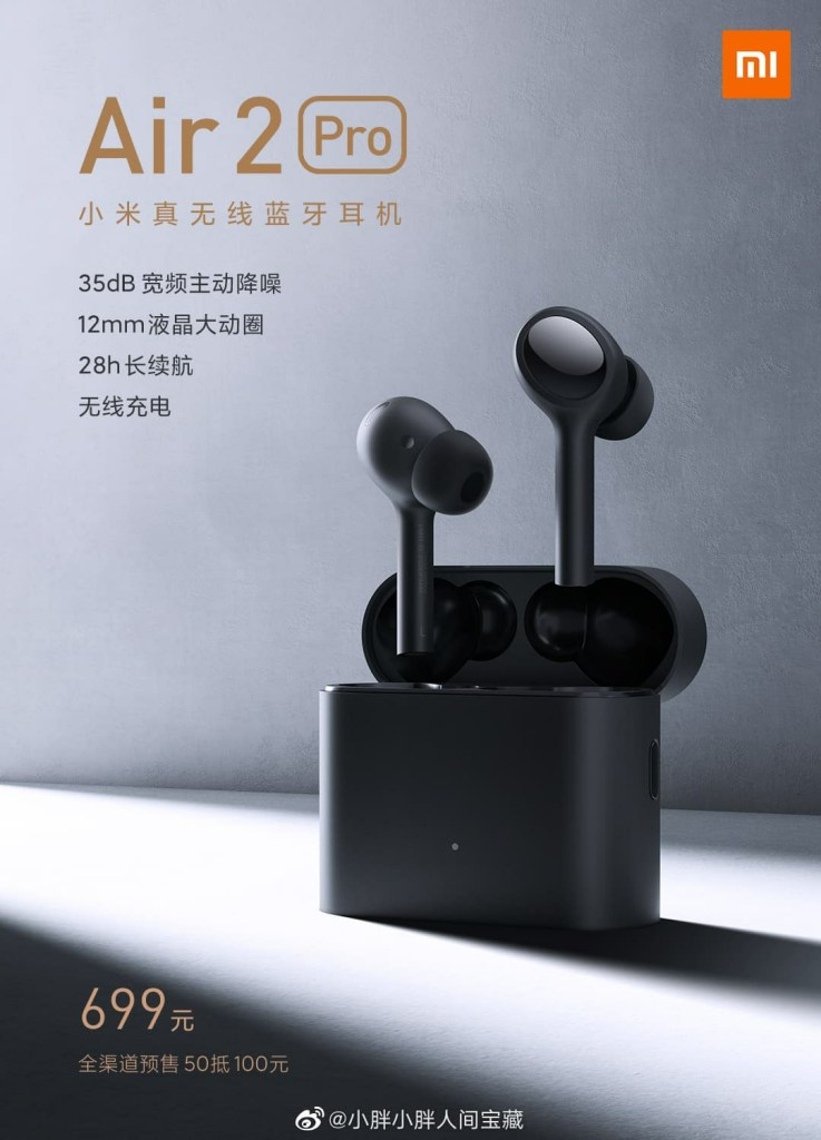 Mi Air 2 Pro Features and Price