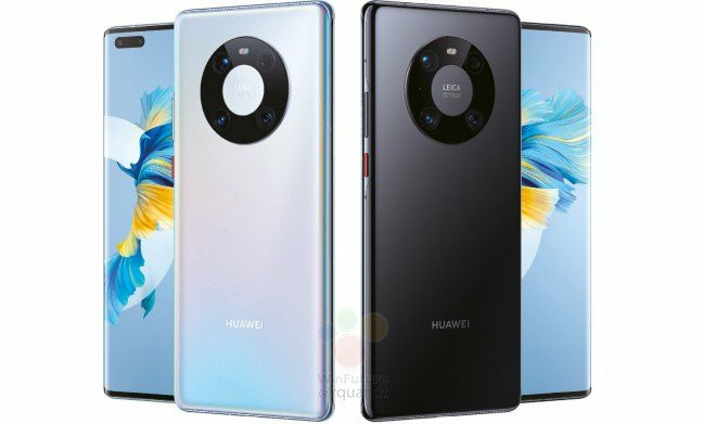 Huawei Mate 40 Pro Official Rendering