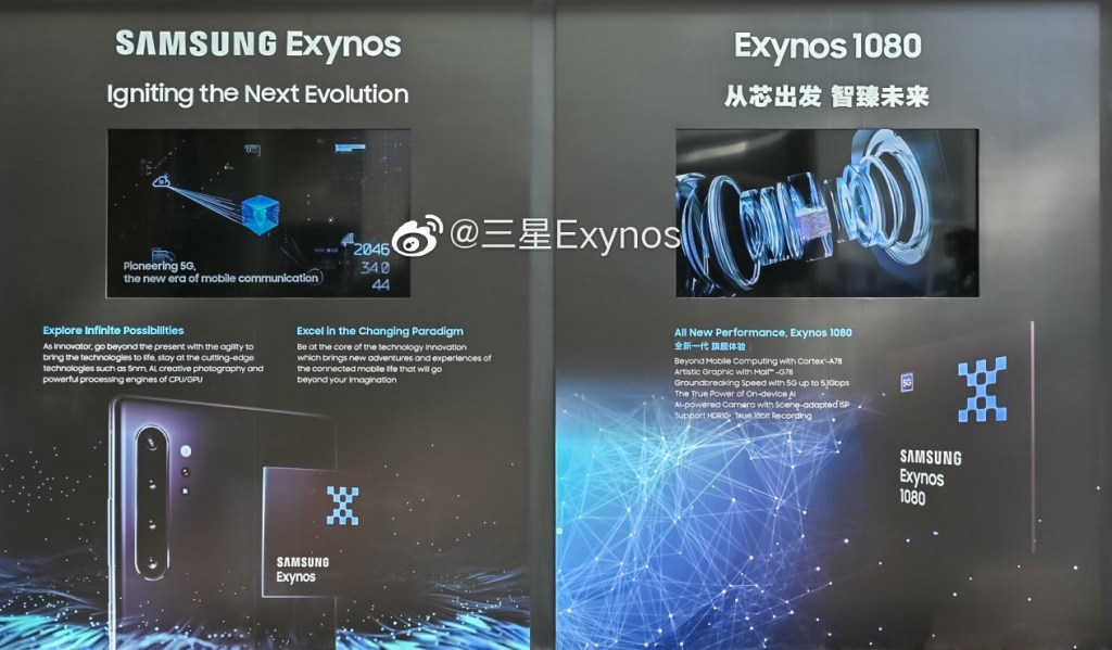 Samsung Exynos 1080 5nm Specifications