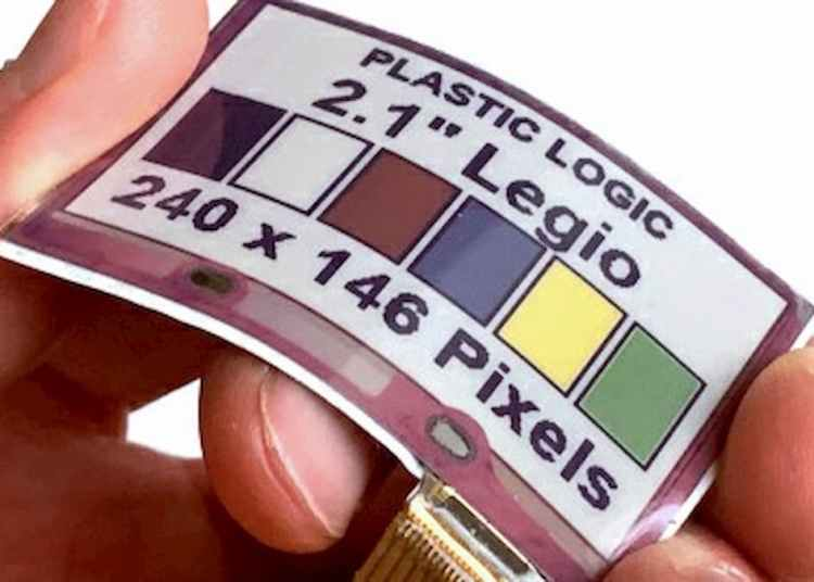 E Ink soft full-color Electronic Paper