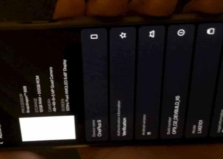 OnePlus 9 Live Photo