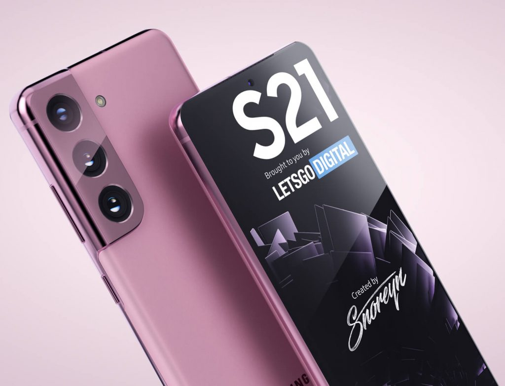 Samsung Galaxy S21 Renderings