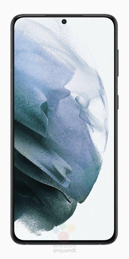 Samsung S21 Plus Press Rendering