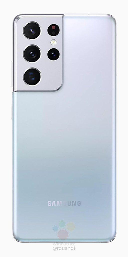 Samsung Galaxy S21 Ultra Press Rendering