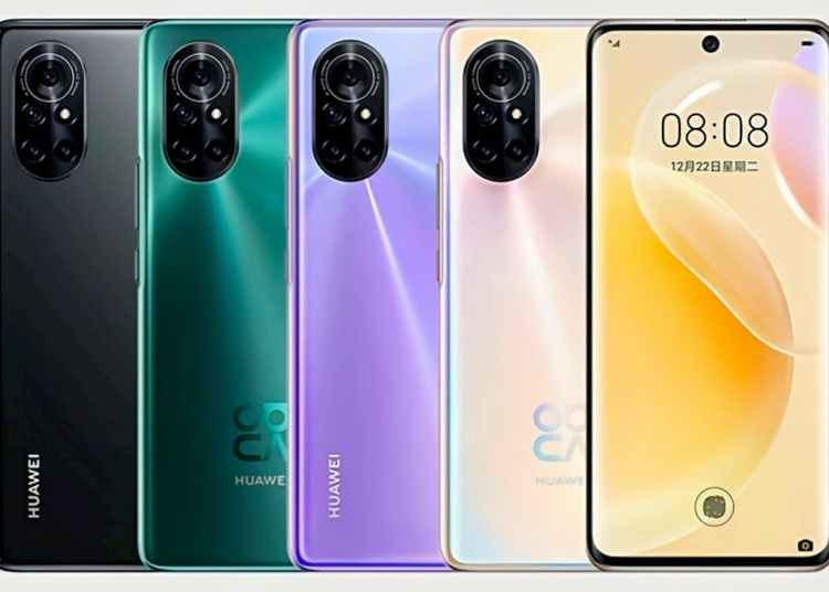 Huawei Nova8 hands-on video and Official Press Rendering Leaked