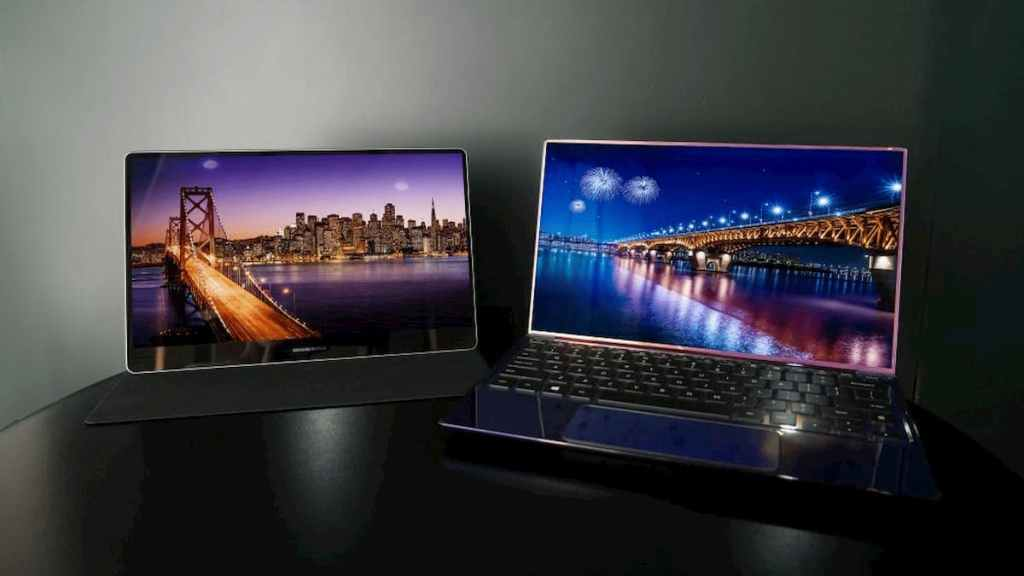 Samsung Notebook OLED Display
