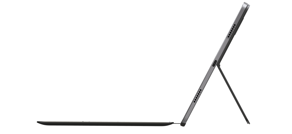 Lenovo Tab P11 with keyboard pack in profile